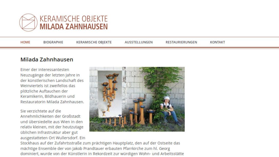Screenshot - milada-zahnhausen.at